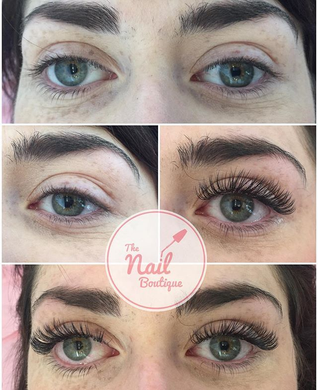 Before And After Russian Volume Lashes By Emma Russianvolume
