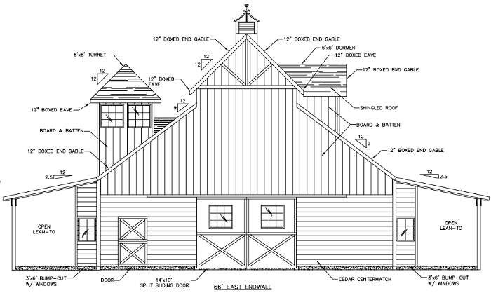 APB Pole Barn | House exterior, Pole barn, Floor plans