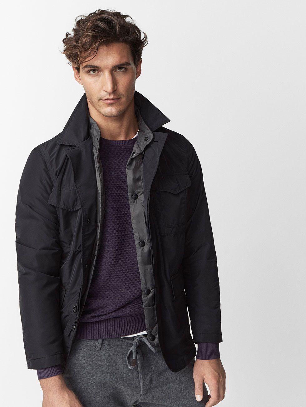 Abrigos y chaquetas massimo dutti