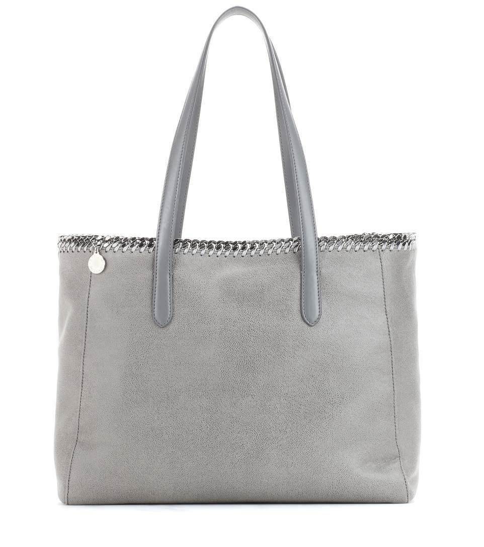 STELLA MCCARTNEY Falabella Tote. #stellamccartney #bags #hand bags #polyester #tote #lining #