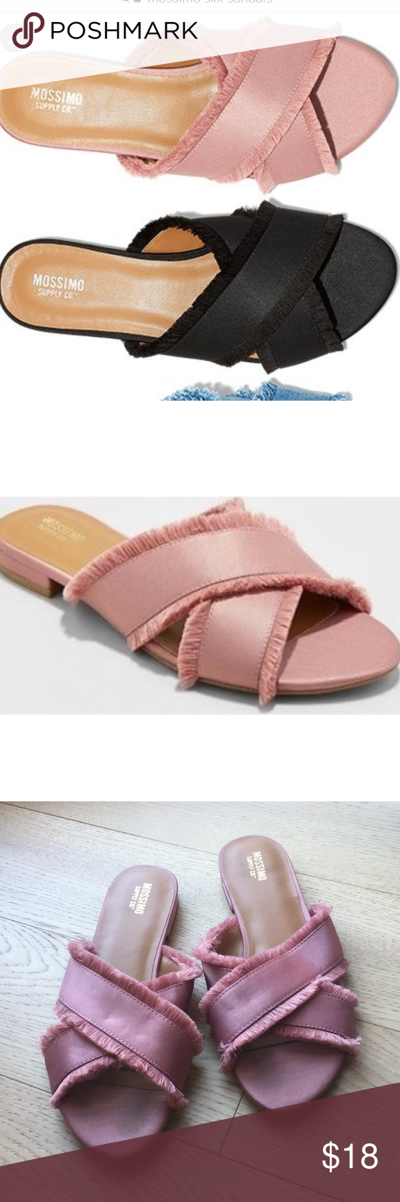 7aa942179182 Mossimo pink sandal Pink sandal from target. Excellent condition. Looks  similar to gianvito Rossi. Amazing shoe for price. Size 7.5 Mossimo Supply  Co.