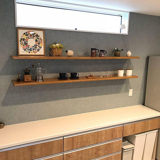 キッチン クードゴミ箱 カップボード Lixil ライトグレイン などのインテリア実例 2018 09 21 14 16 31 Roomclip ルームクリップ リビング キッチン キッチン 棚 おしゃれ キッチンインテリアデザイン