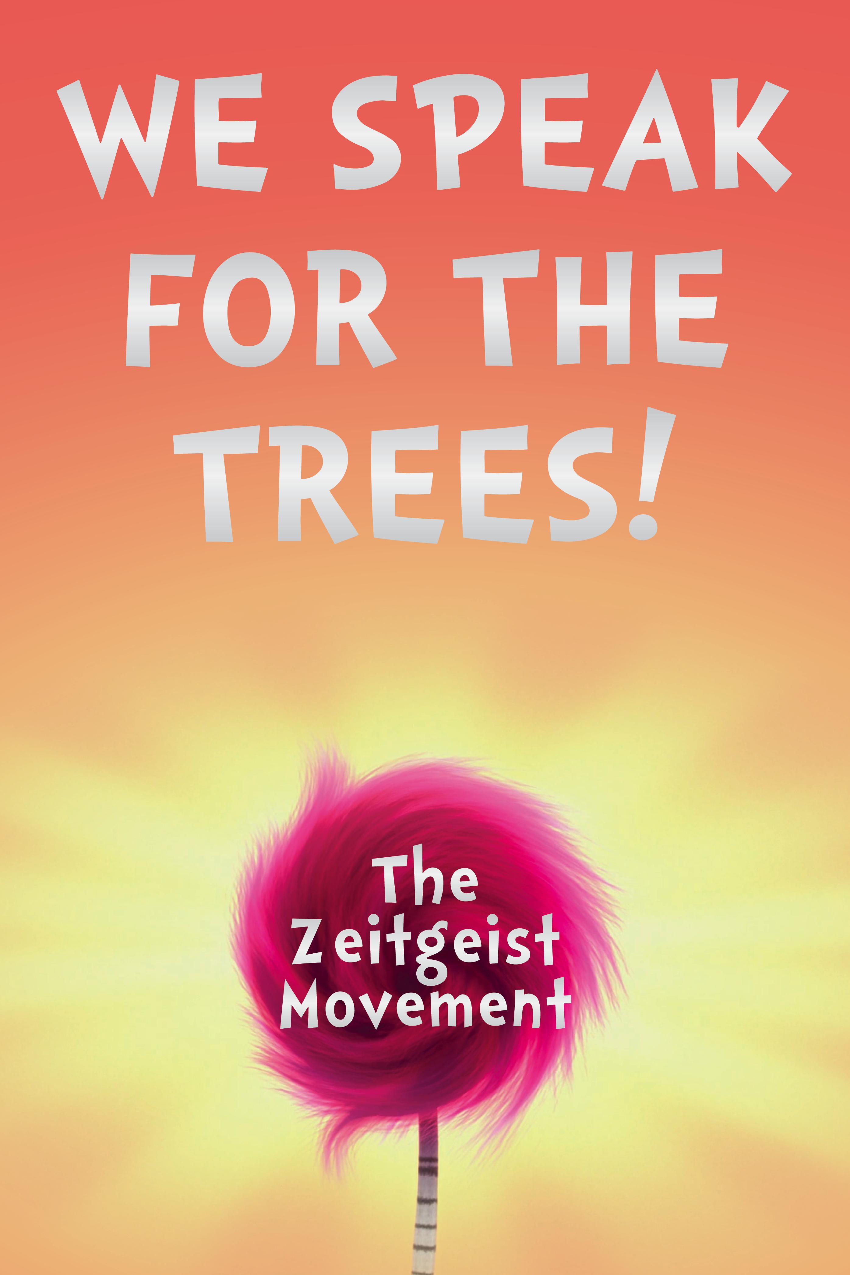 We Speak Fashionicano Best Fashion Magazines Covers: We Speak For The Trees! Zeitgeist Movement