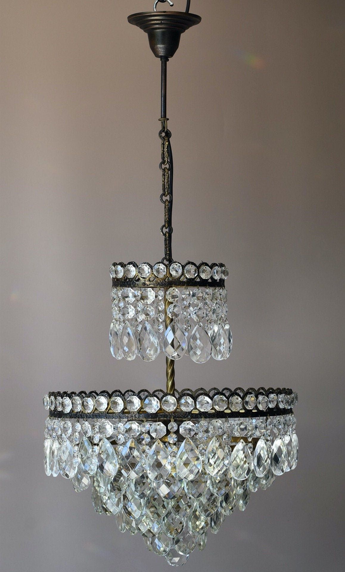 Antique Style Light French Empire Wedding Chandelier Etsy In 2020 Vintage Crystal Chandelier Ceiling Pendant Chandelier