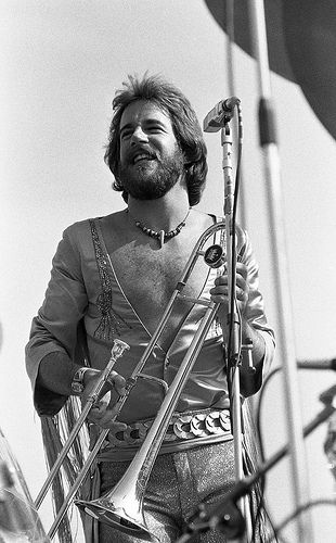 Jimmy Pankow....1967....Chicago's trombone player ...
