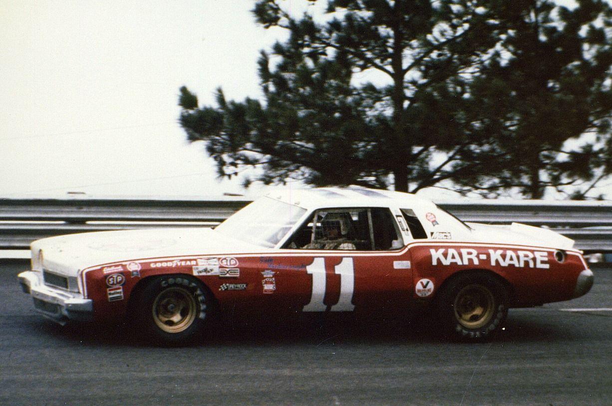 Cale Yarborough 1973 Junior Johnson Monte Carlo 1974 Atlanta 500