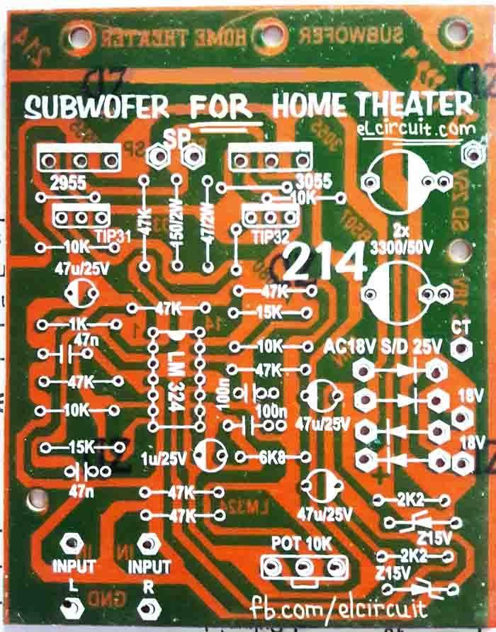Subwoofer Home Theater Power Amplifier | Pinterest | Audio, Circuit ...