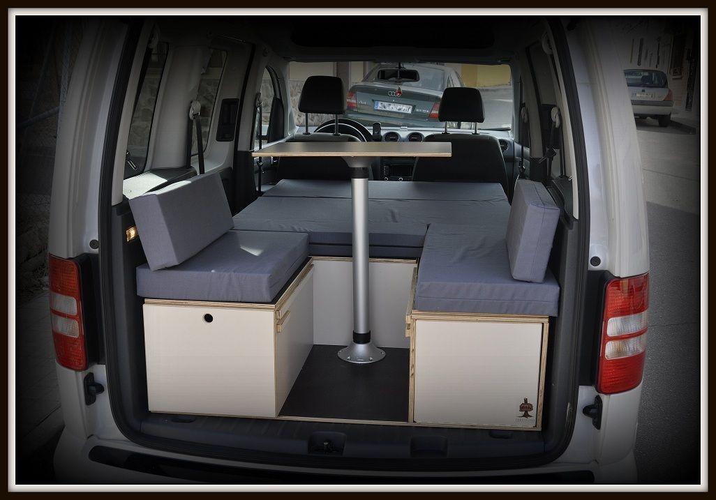 Fabricación de muebles camper para furgos y minifurgos tipo Renault ...