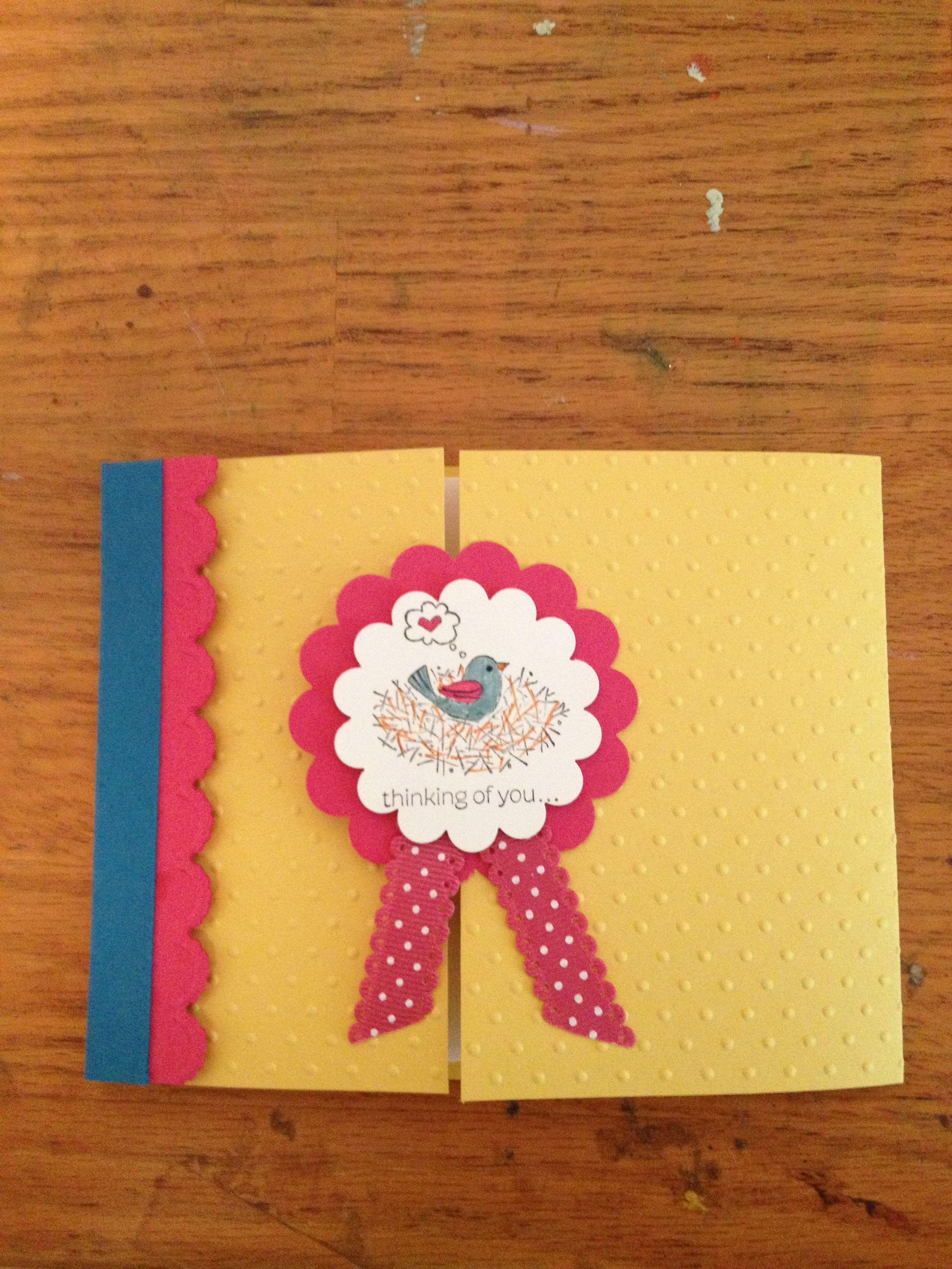 Patty Rod Stampin up pretty card