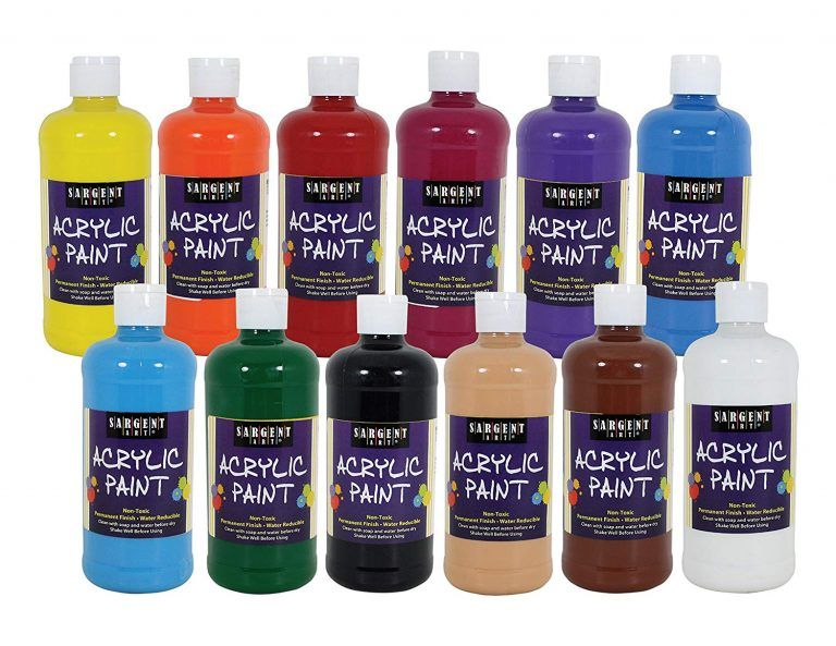 Top 10 Best Acrylic Paint Sets In 2019 For The