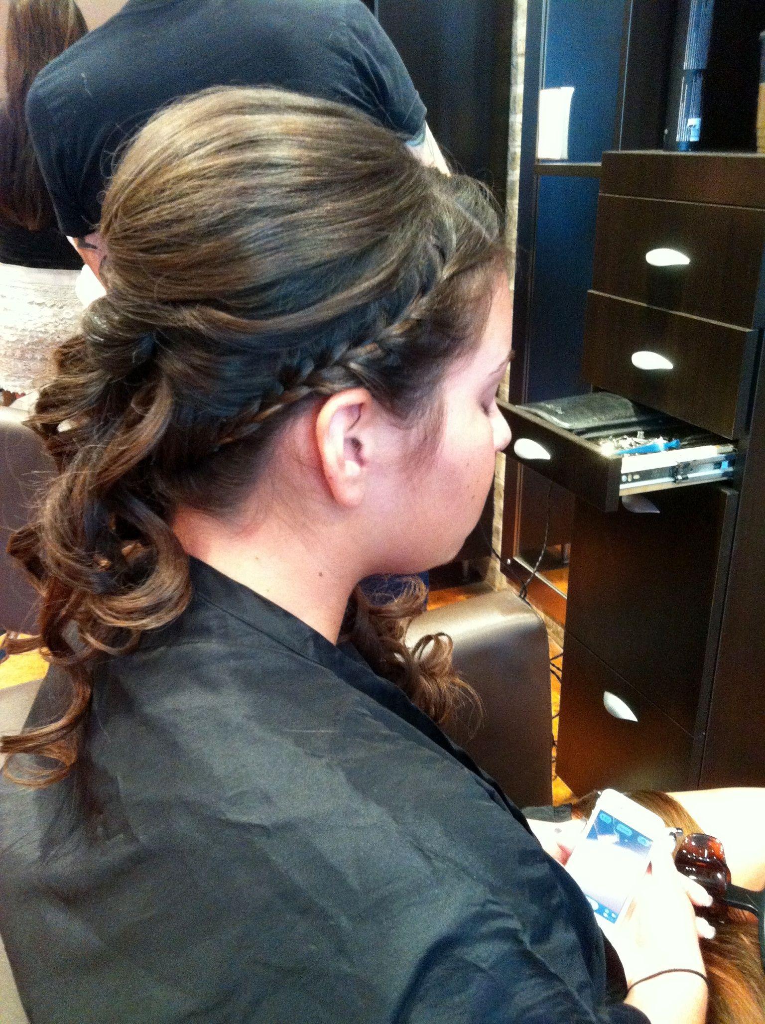 Braid updo long hair pinterest updo