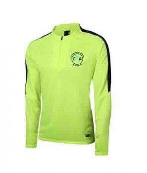 413b54d38 Club America 2017-18 Season Liga MX Chartreuse Training Sweater [K43 ...