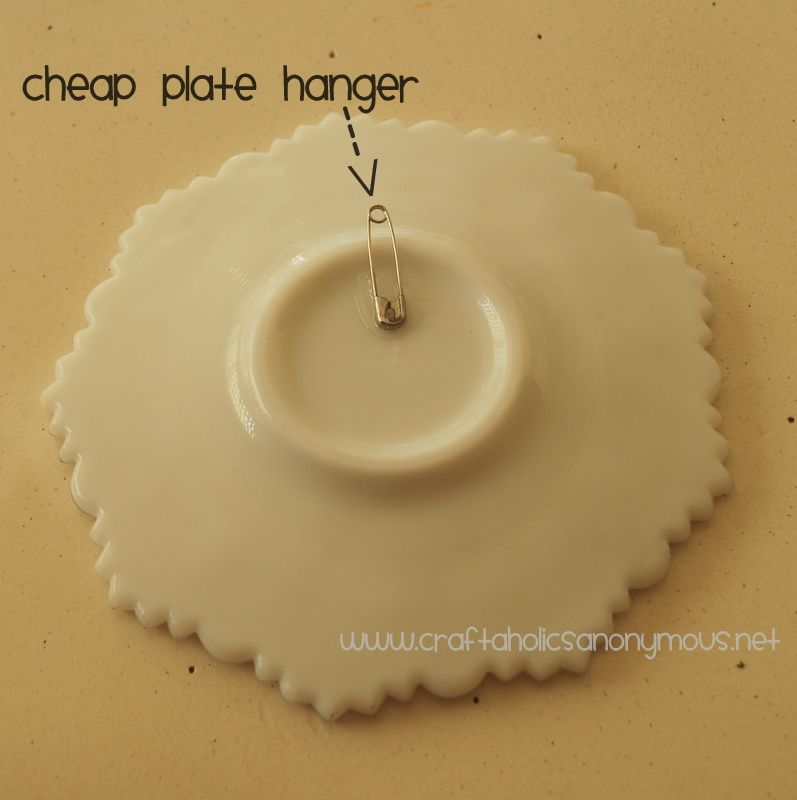 Wall Hangers For Plates Best How To Make Your Own Plate Hangers And Holders  Plate Holder Decorating Inspiration