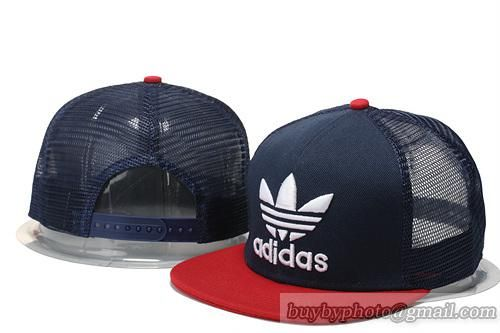 Adidas Navy Red Breathable Mesh Snapback Hats 5d91e23d7d6