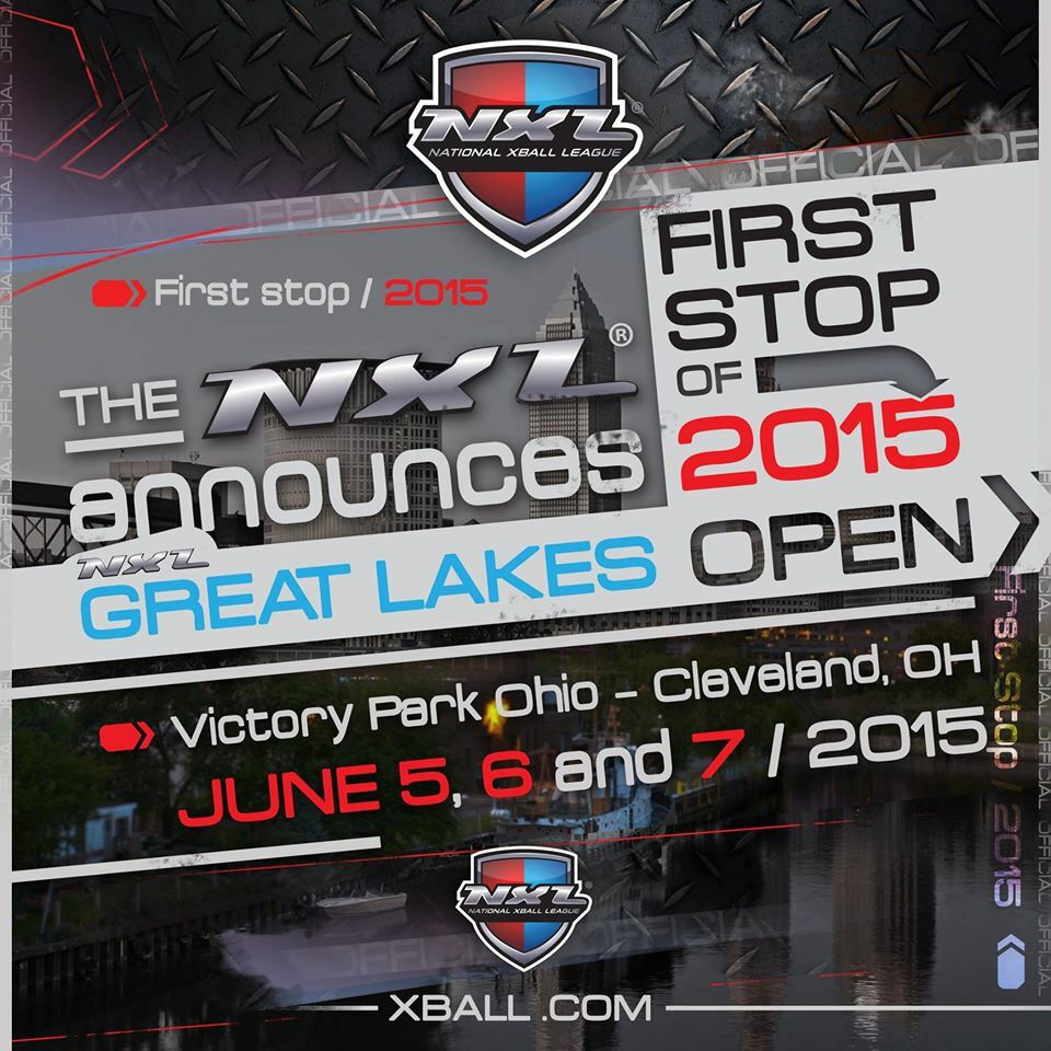New Professional Paintball League hosting it's first event here in Cleveland. NXL.