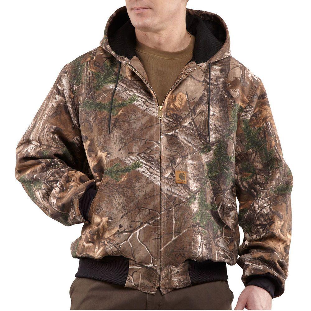 Carhartt Men S J220 977 Realtree Xtra Camo Active Jac Size Xlt Carhartt Jacket Active Jacket Carhartt Mens [ 1000 x 1000 Pixel ]