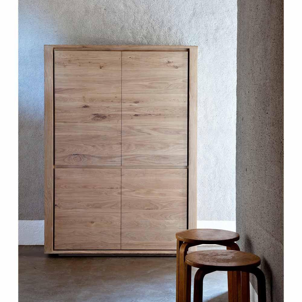 Ethnicraft Highboard Shadow Eiche Highboard Wohnzimmer Design