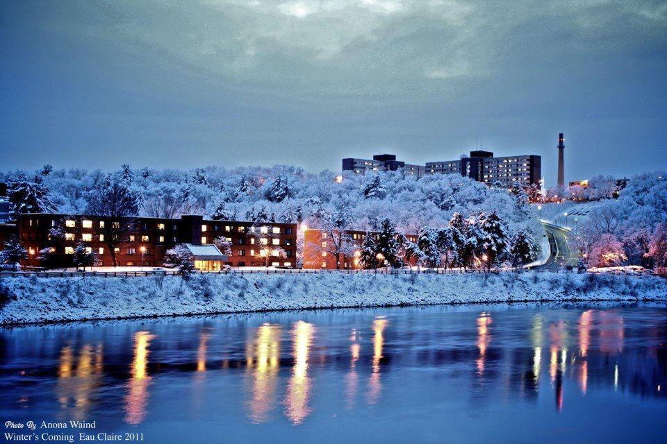 University Of Eau Claire >> Uwec Campus Inspirational Eau Claire Wisconsin Eau Claire