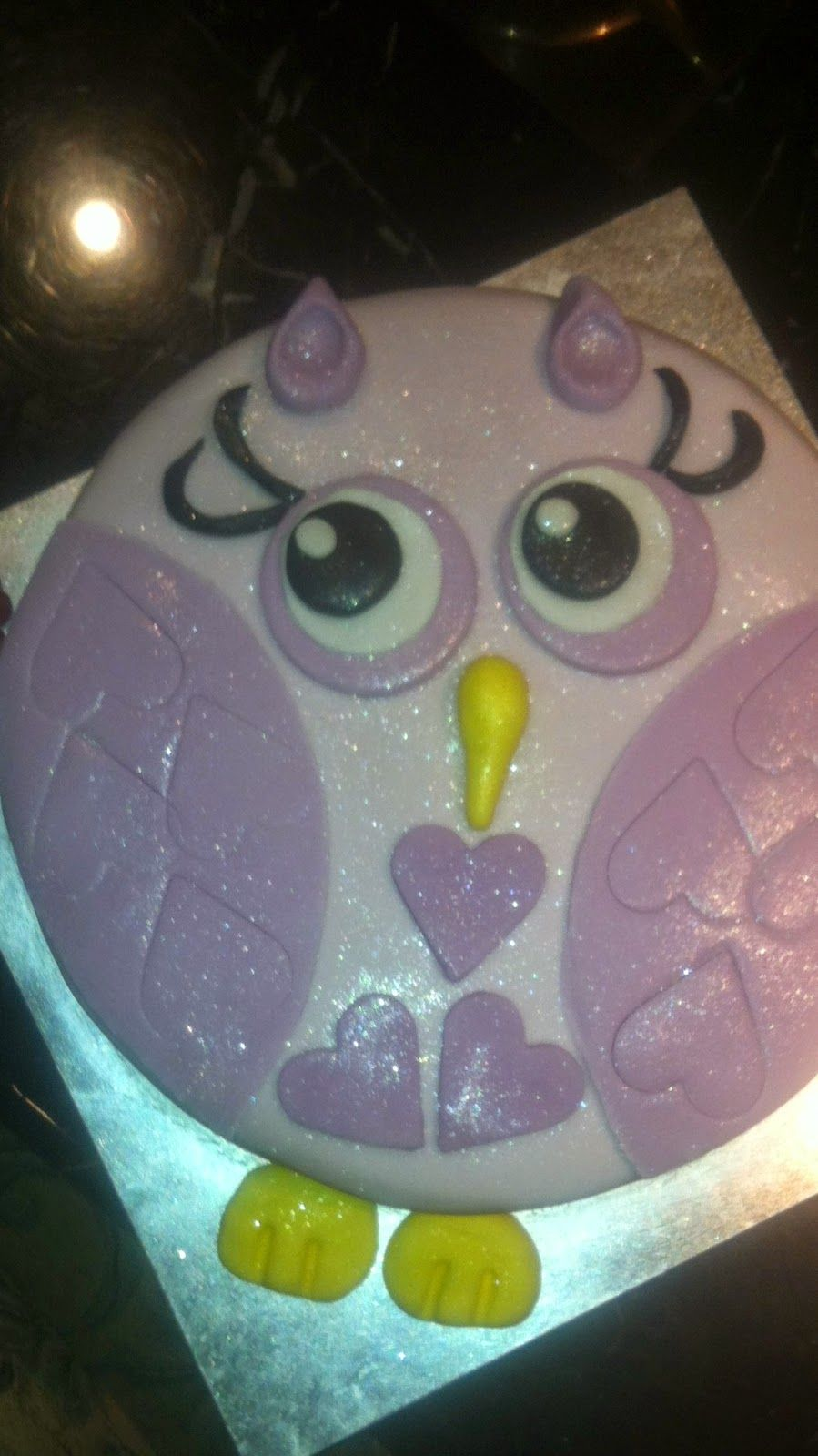 A Tray Of Bliss Diy Owl Cake And Heat Proof Buttercream Frosting