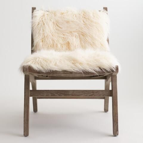 Beautiful Our Cozy Accent Chair Features An Exposed Elm Wood Frame With A Distressed  Gray Wash Finish