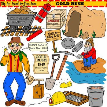 Clip Art Gold Rush | Colors, Student and Art