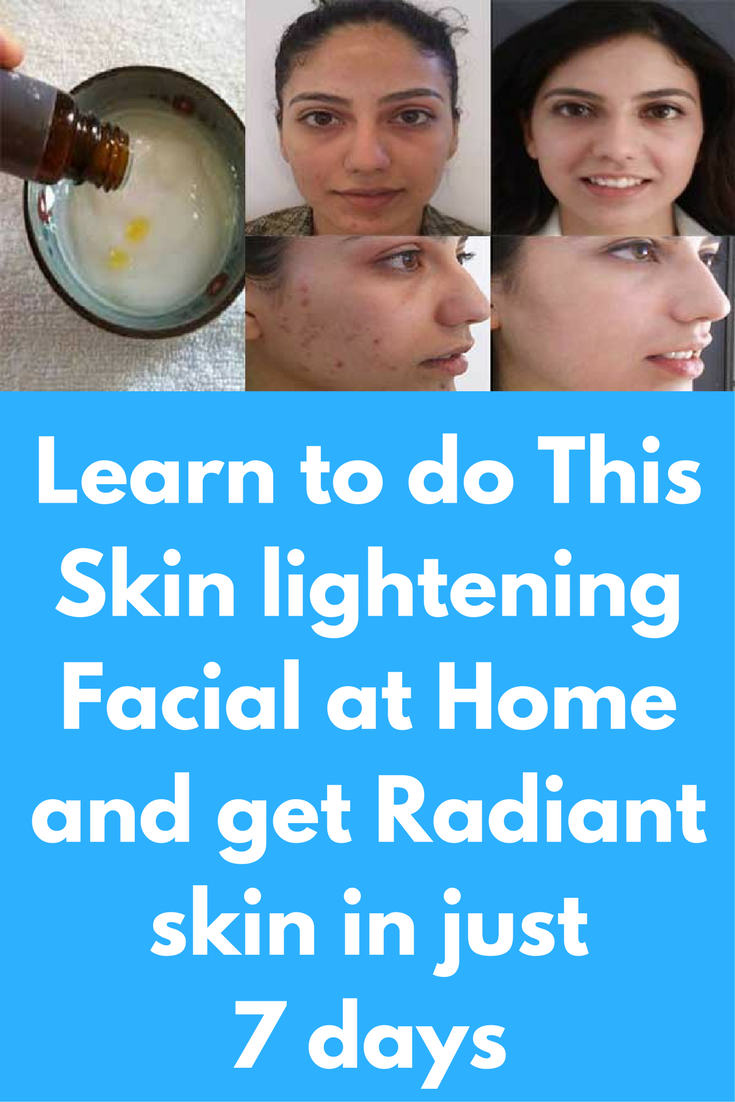 Learn to do facial