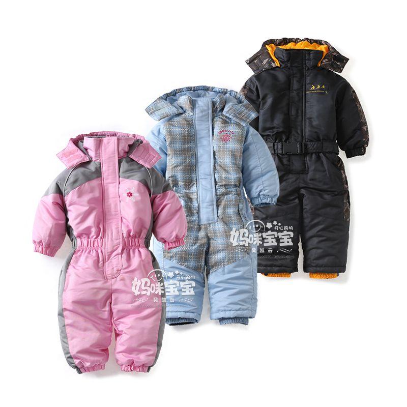 09acfc0d0f54 New 2016 children winter jumpsuit newborn baby clothes girls cotton ...