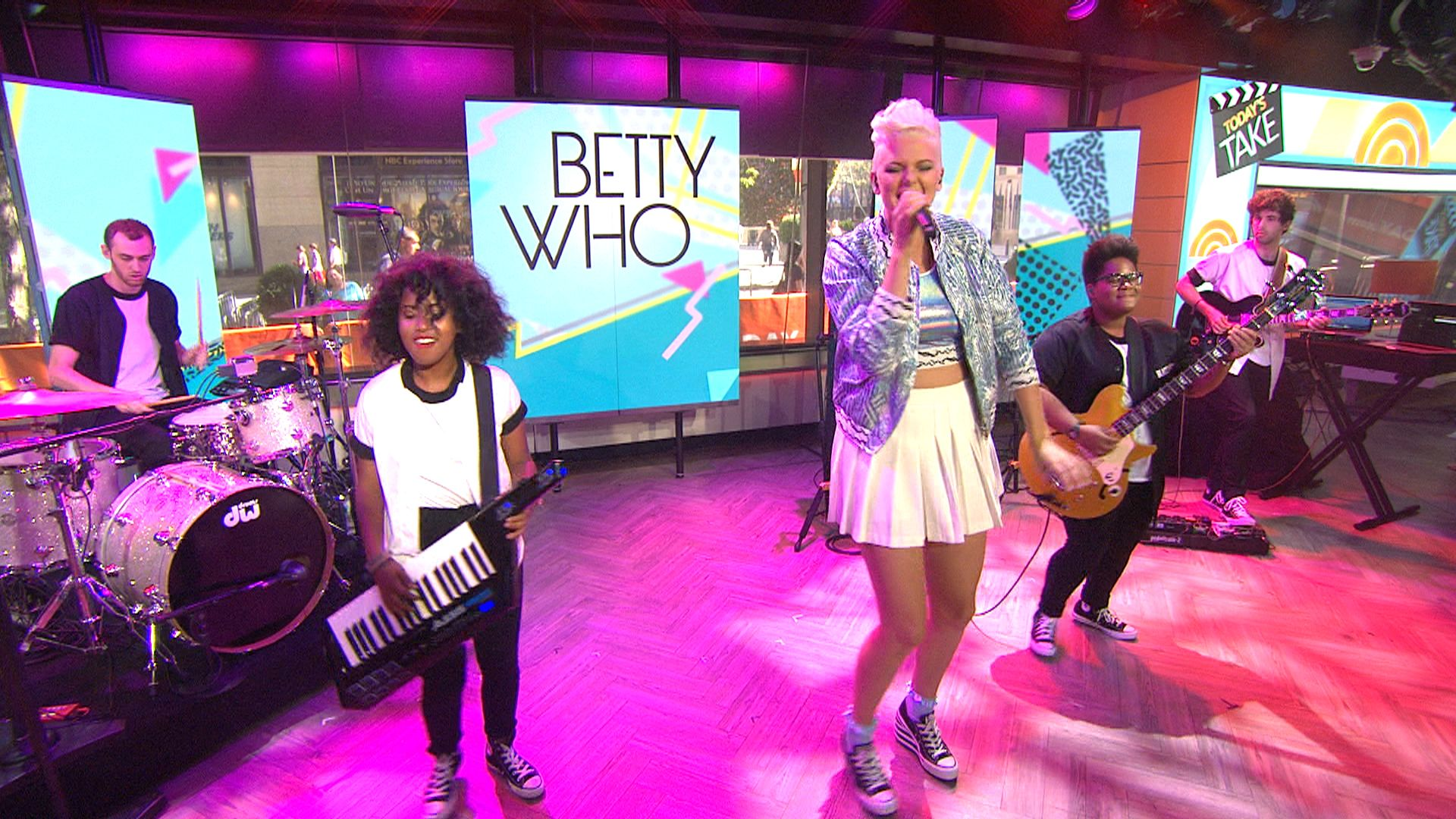 Betty Who Performs Somebody Loves You On Betty Who