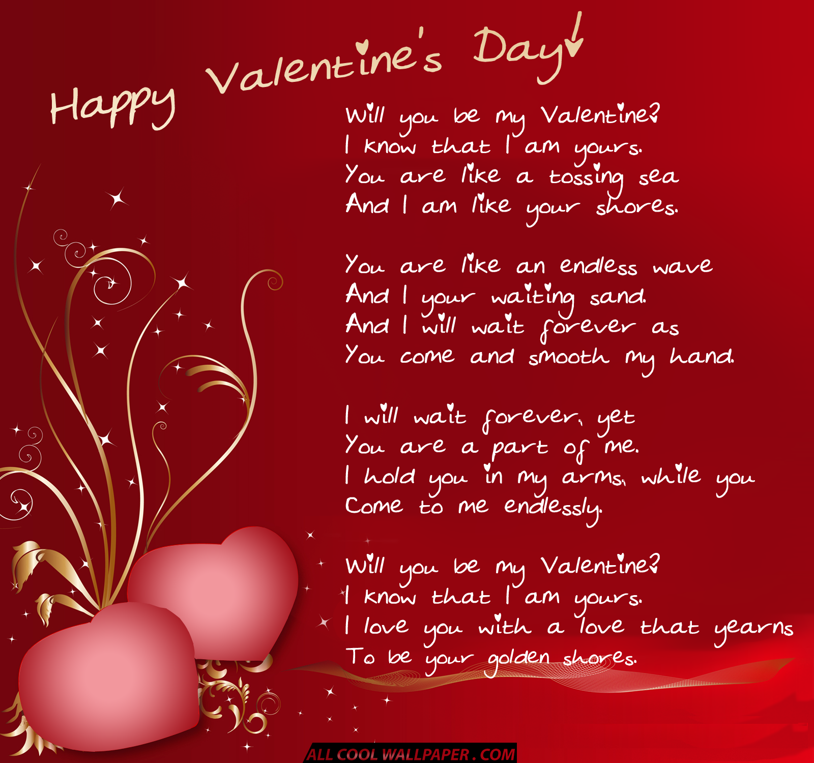 Heart Touching Valentines Day Poem - Valentine Day Specials