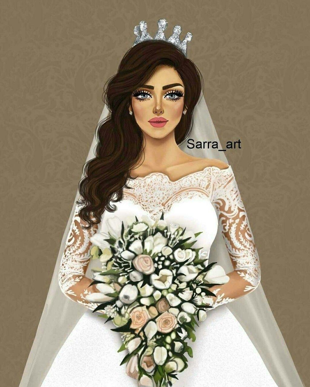 Image Decouverte Par Zouzou Decouvrez Et Enregistrez Vos Images Et Videos Sur We Heart It Wedding Drawing Cute Girl Drawing Cartoon Girl Images