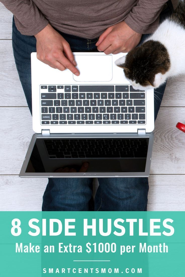 Check out this list of 8 side hustles and make an extra