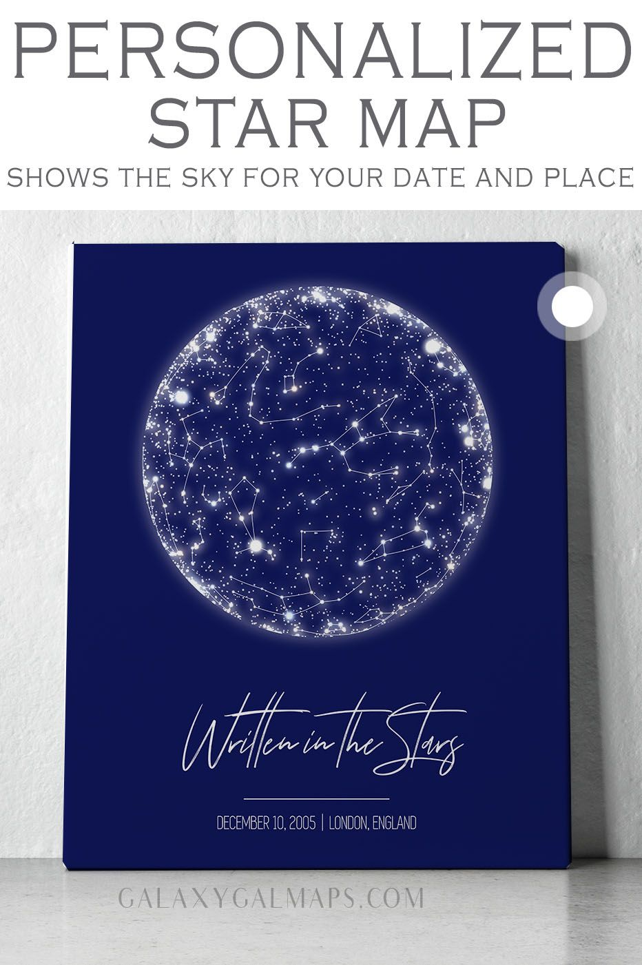 Your Unique Star Map Wedding Gift Print Sterne Nach Datum Far Apart Constellation Him Horoscope Wa Star Map Personalised Gifts For Sister Wedding Prints