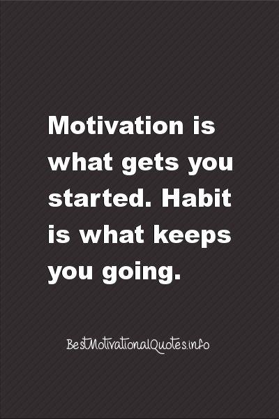 Citaten Succes : Quote geeft aan dat het omzetten van je motivatie in een