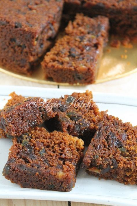 Azie Kitchen Steamed Mixed Fruit Cake Very Moist