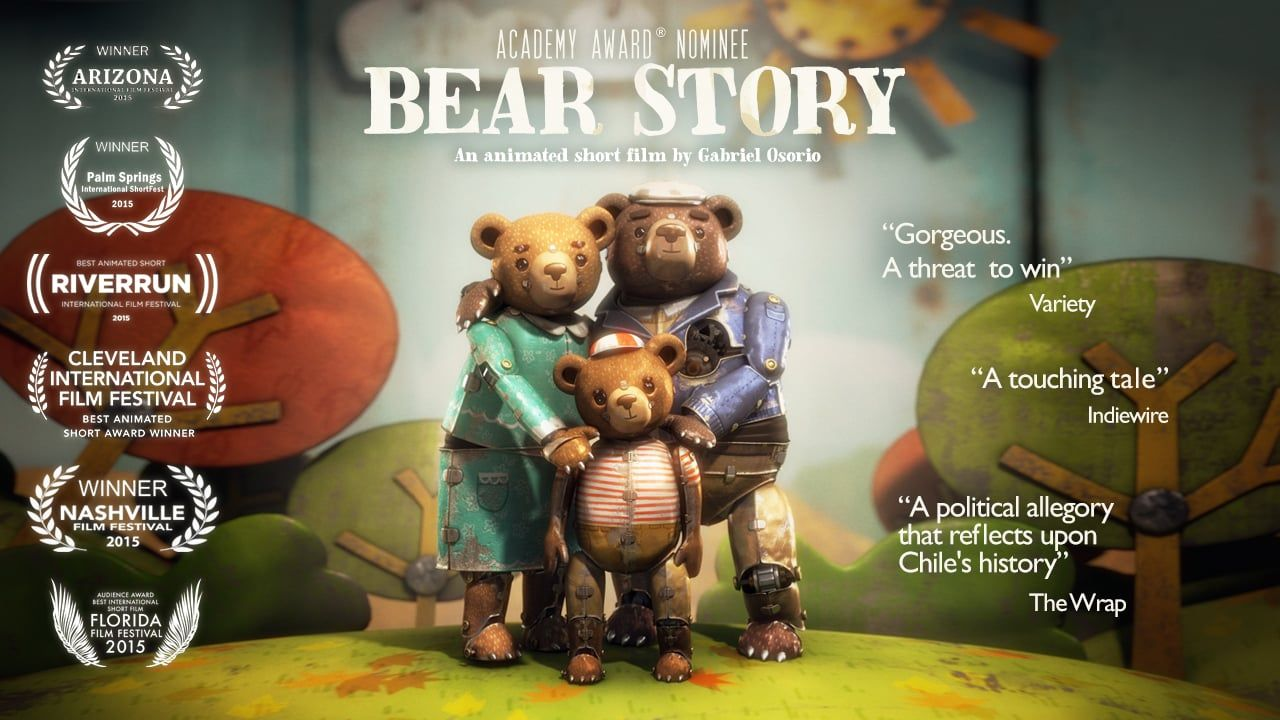 Trailer BEAR STORY HISTORIA DE UN OSO Nominated For An Oscar For