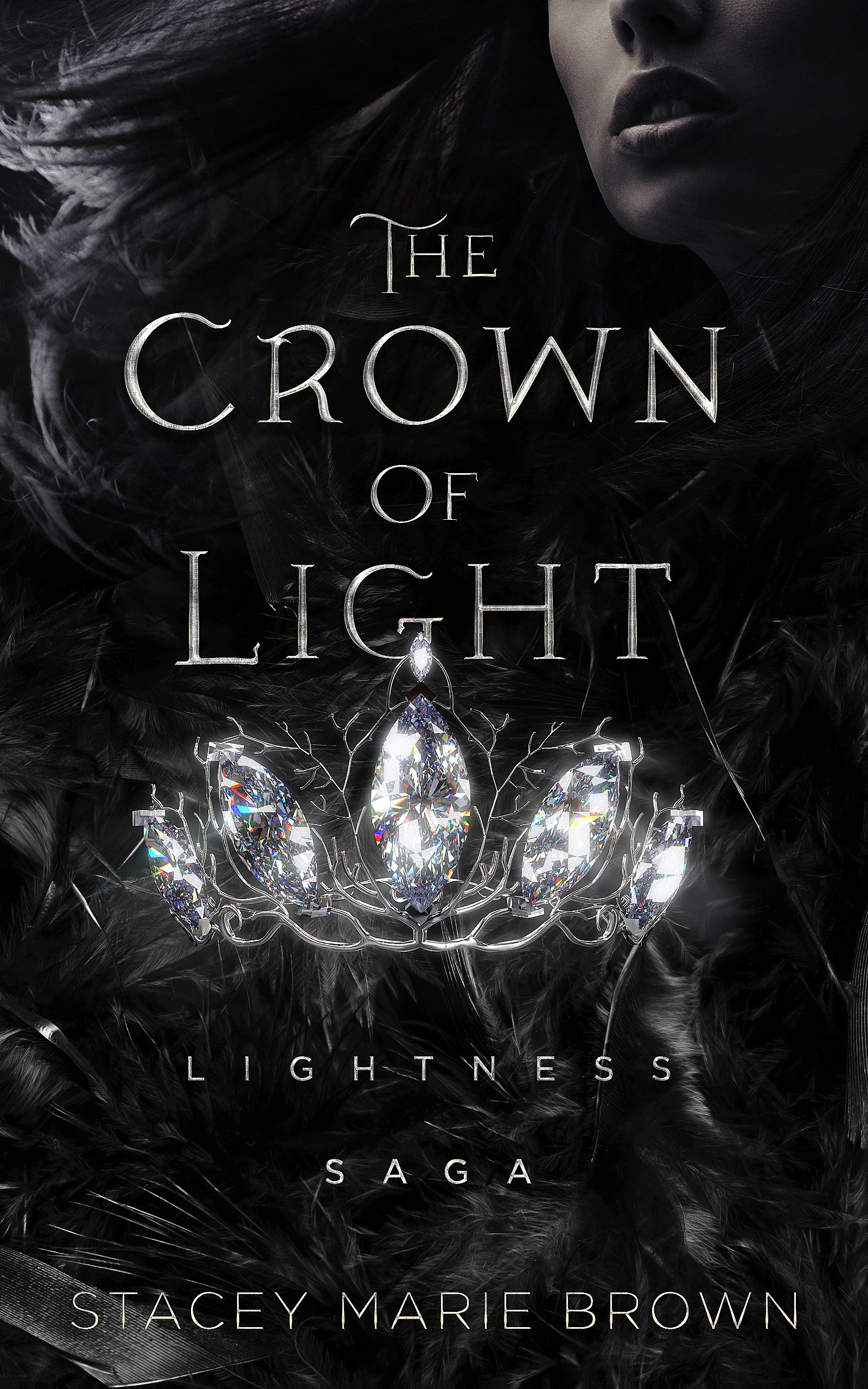 Book Cover Design For The Crown Of Light If You Would Like To Commission Us For Your Book Cover Please Fantasy Books To Read Fantasy Books Book Cover Design