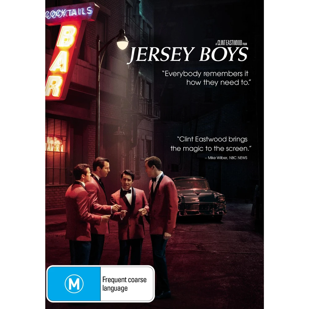 Jersey Boys Jb Hi Fi In 2020 Jersey Boys Frankie Valli John Lloyd Young