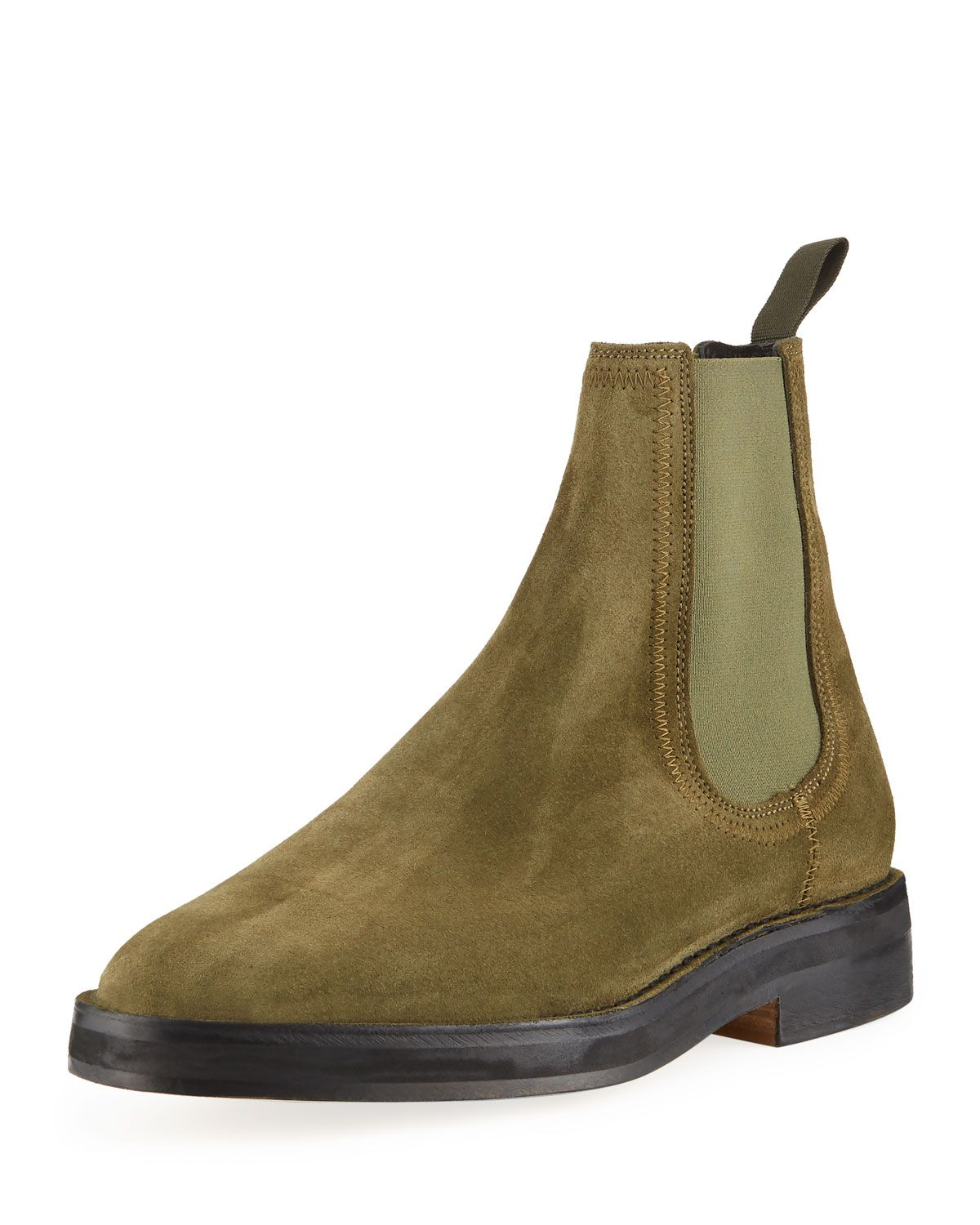 9bc927d0bf6 YEEZY TEEZY SUEDE CHELSEA BOOT