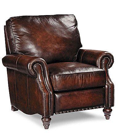 Bernhardt Boulder Leather Recliner Dillards Com Living Room