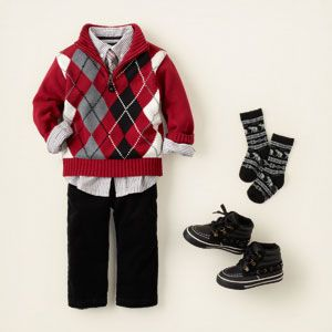 Christmas Outfit - Boy: The Children's Place | SAID RAFAEL ...