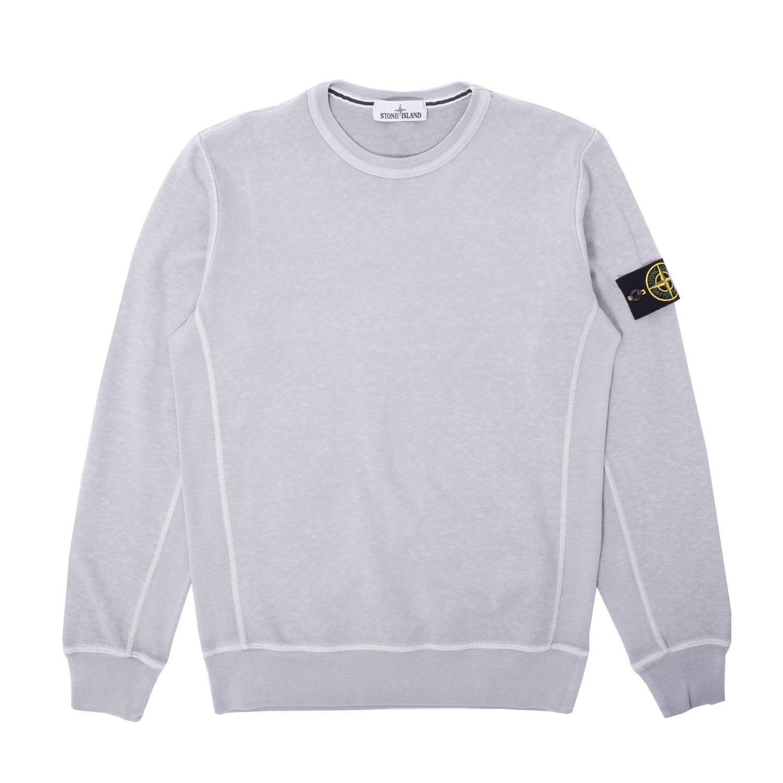 Sweatshirt · Classic premium brushed cotton Garment Dye Crewneck Sweatshirt  from Stone Island.
