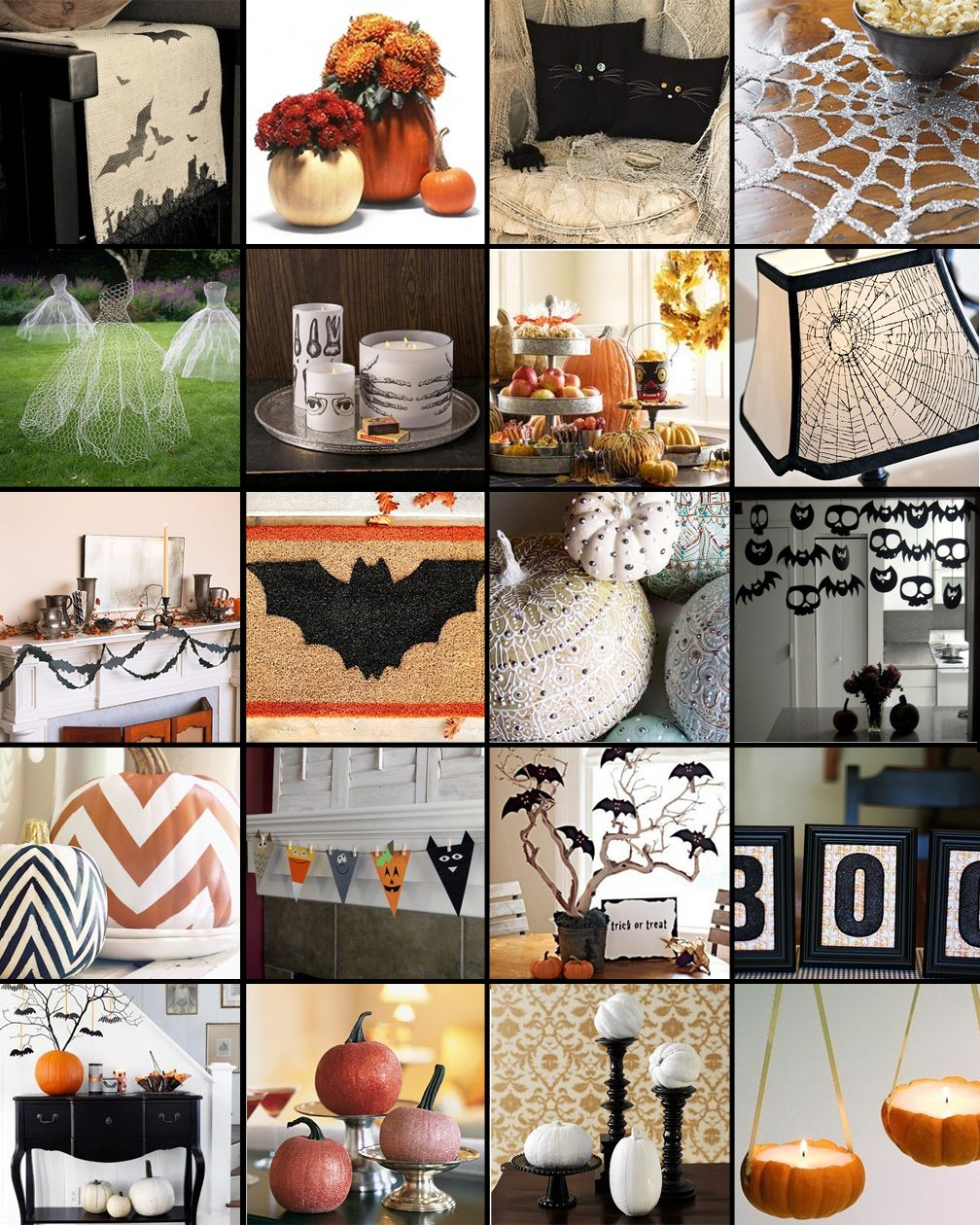 pinterest wednesday 20 diy decorations for halloween - Simple Homemade Halloween Decorations