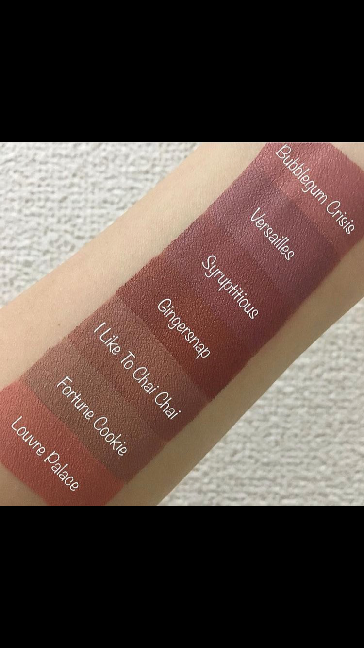Beauty bakerie lip whip swatches | Hair and Makeup ...
