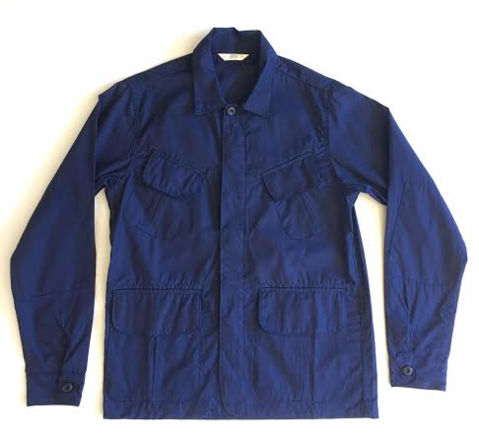 3sixteen BDU Shirt // Indigo Ripstop