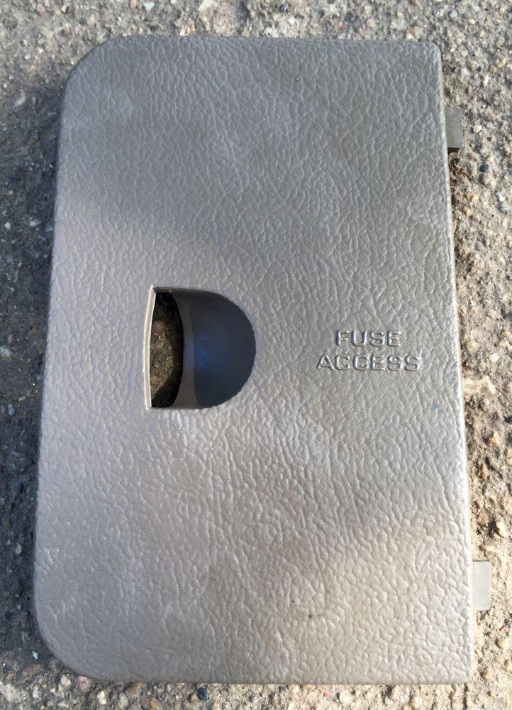 1995 Jeep Cherokee Under Hood Fuse Box
