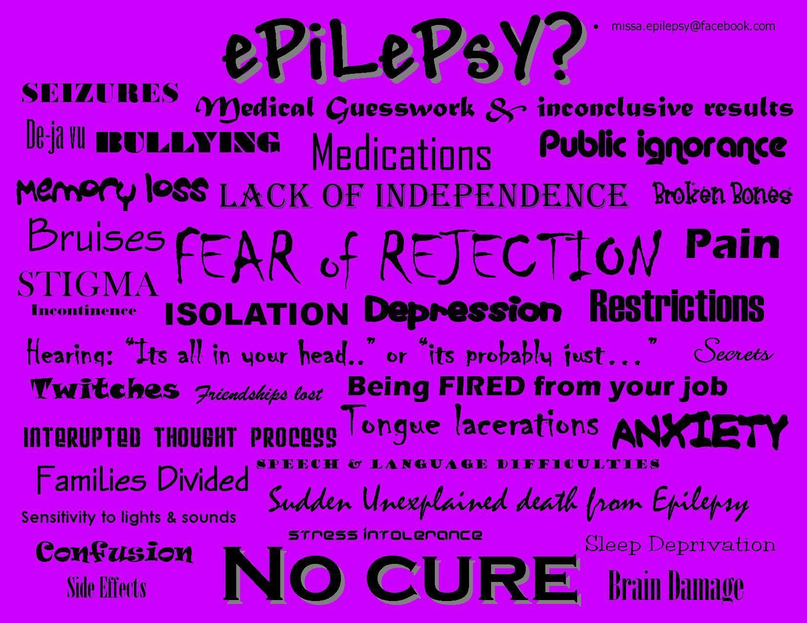 Epilepsy Awareness Quotes. QuotesGram