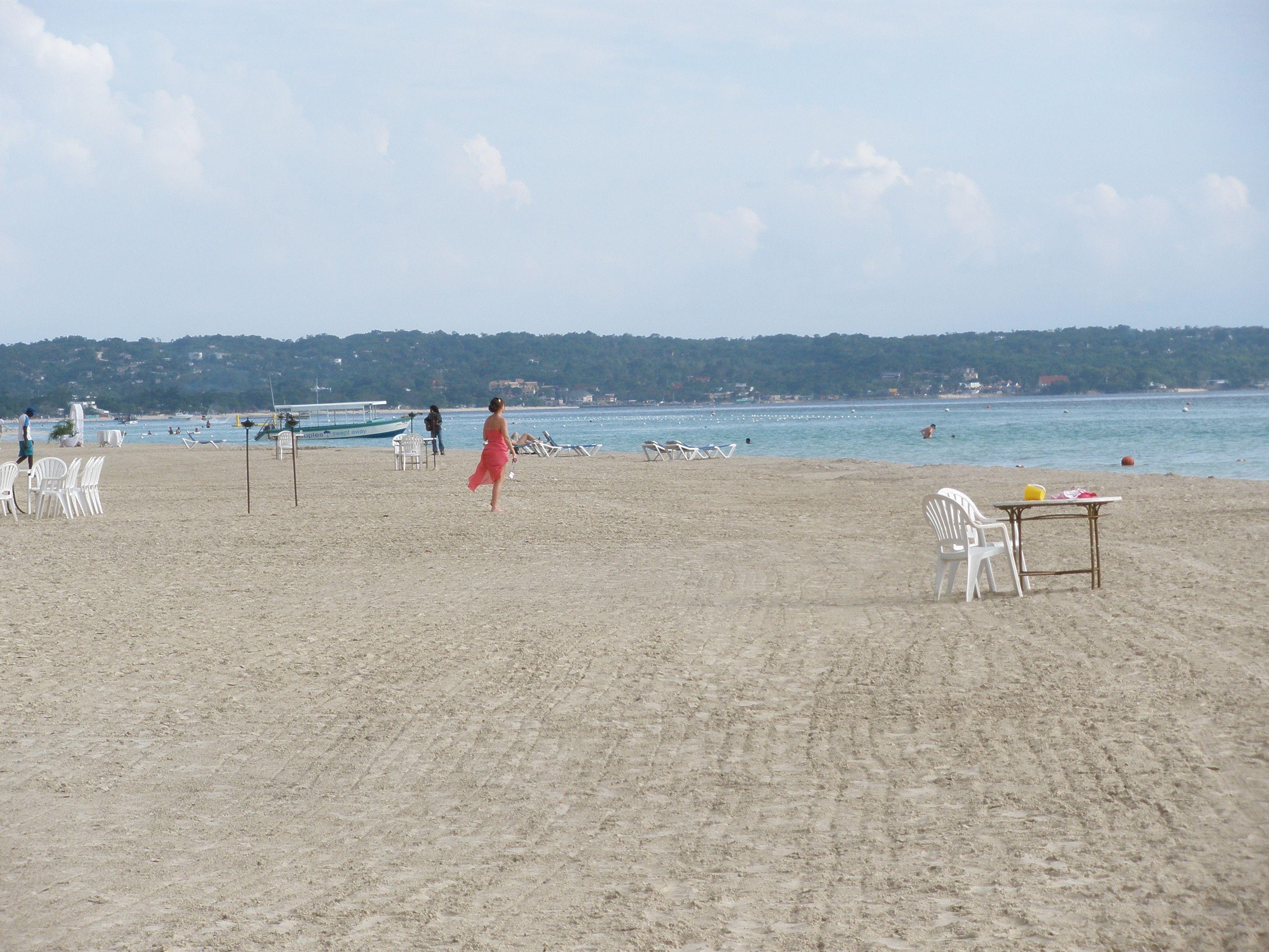 The beach. Beaches Negril, Jamaica