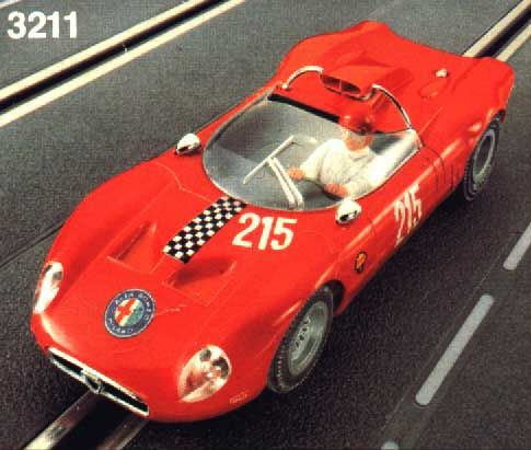 Fleischmann Alfa Romeo Tipo 33 Periscopica 3211 Red Fleischmann