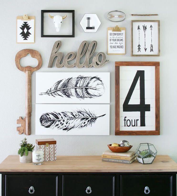 composition murale affiches modernes pour cr er et boutiques en ligne. Black Bedroom Furniture Sets. Home Design Ideas