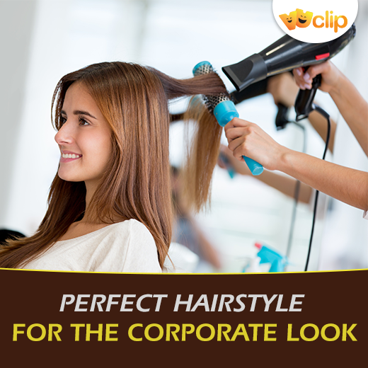 Confused about getting the right hairdo? Get that perfect #hairstyle for the #CorporateLook. #VuHere for tips -